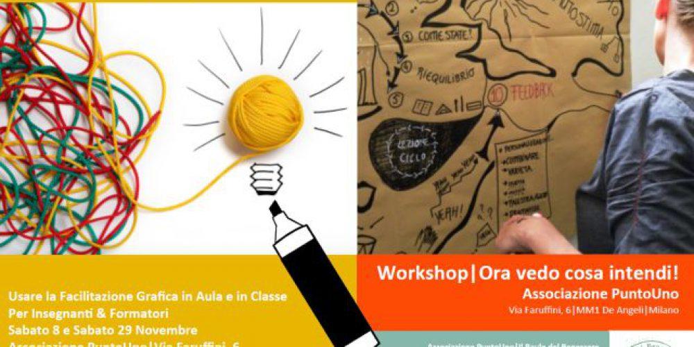 Last Minute! Workshop di Facilitazione Grafica | Ora vedo cosa intendi! – Punto di Forza