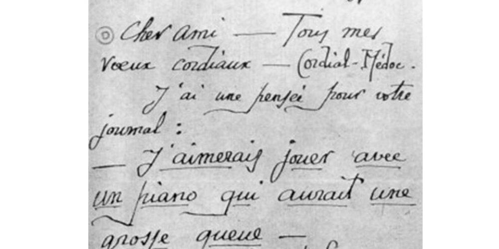 La Danza dei Gamberi & Erik Satie