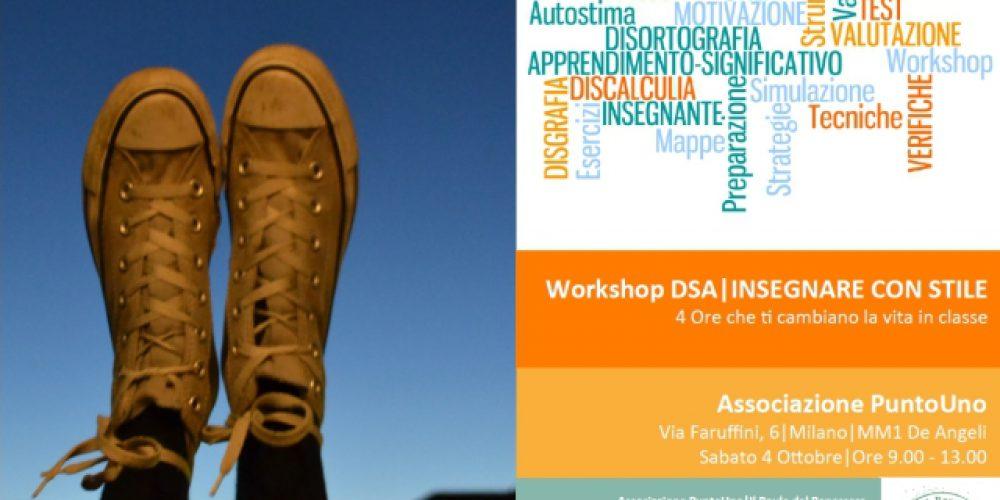 Workshop DSA, Insegnare con Stile si può! – Punto di Forza